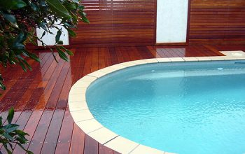 Timber deck around pool 4