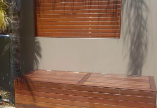 Timber screens 5